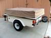 "Kenda 205/65-10 Bias Trailer Tire with 10"" White Wheel - 4 on 4 - Load Range C customer photo"