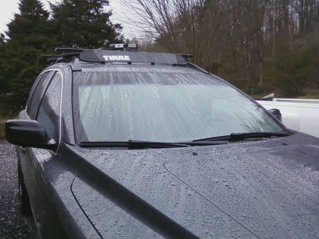 Subaru Impreza Thule Airscreen Fairing For Roof Racks 38 Long