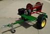 """Single Axle Trailer Fender - Jeep Style - 16 Gauge Steel - 10"""" Wheels - Qty 1 customer photo"""