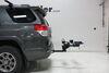 2012 toyota 4runner hitch bike racks rockymounts tilt-away rack fold-up 2 bikes rky10004