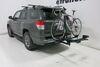 2012 toyota 4runner hitch bike racks rockymounts platform rack 2 bikes monorail - inch hitches tilting wheel mount