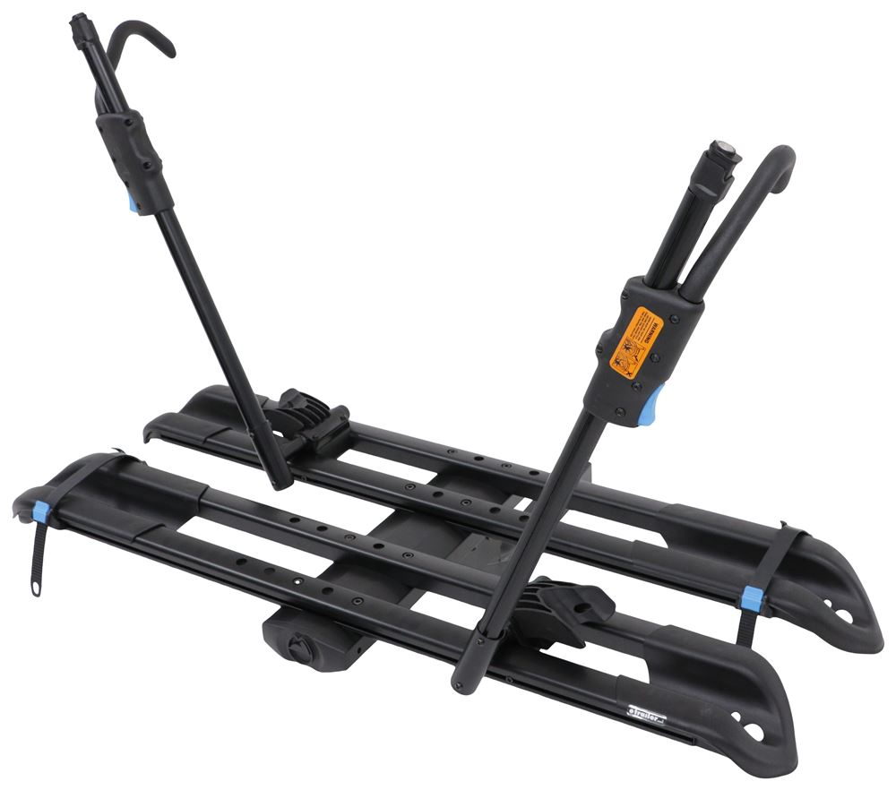 "RockyMounts SplitRail LS 2 Bike Platform Rack - 2"" Hitches - Tilting - Wheel Mount 2 Bikes RKY11404"