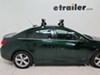 2015 chevrolet cruze ski and snowboard racks rockymounts roof rack liftop smalls carrier - locking 3 pairs of fat skis or 2 boards