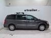 2016 chrysler town and country ski snowboard racks rockymounts clamp on - standard 5 pairs of skis 4 snowboards a vehicle