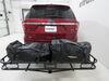 0  car roof bag rightline gear waterproof material rack mount basket naked in use