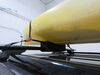 0  watersport carriers rightline gear kayak roof mount carrier with tie-downs - foam block style 14-3/4 inch long