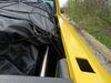 """Rightline Gear Truck Bed Cargo Net w/ Integrated Tarp - Weatherproof - 121-1/2"""" x 106-1/2"""" Black RL100T60"""