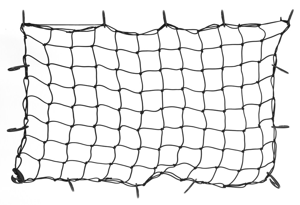 "Stretchable Cargo Net for Rhino-Rack Steel Mesh Cargo Basket - 47-1/4"" x 31-1/2"" 30 Inch Wide RLN1"