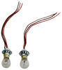 RoadMaster Bulb and Socket Set for Tail Light Wiring Kits Bulb and Socket Kit RM-155-2