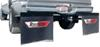 "RoadMaster RoadWing Removable Mud Flap System for Full Size Trucks - 77"" Wide Smooth Frame RM-4400"
