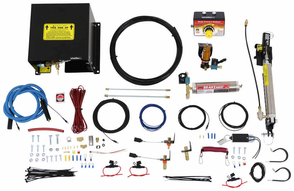 Roadmaster BrakeMaster Braking System w Pressure Reducer for RVs w Hydraulic Brakes - Proportional Power Assist Brake Compatible RM-9060-900002