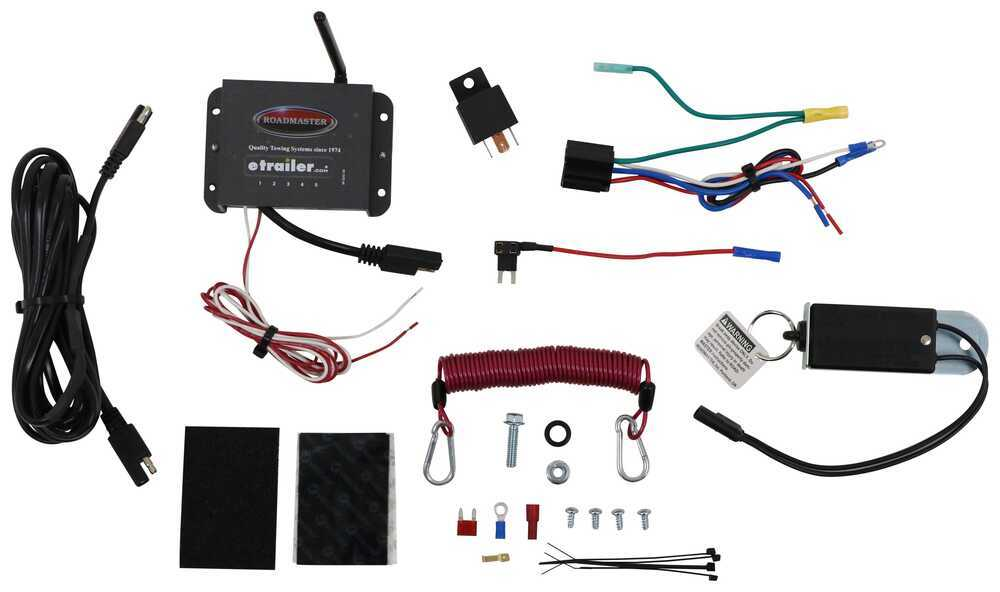 RM-98400 - Second Vehicle Kit Roadmaster Tow Bar Braking Systems