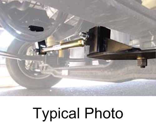 Anti-Sway Bars RM-TRACF53 - Includes Mounting Hardware - Roadmaster