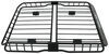 "Rhino-Rack Roof Mounted Steel Cargo Basket - 57"" Long x 42"" Wide - 165 lbs Square Bars,Round Bars,Factory Bars,Aero Bars,Elliptical Bars RMC"