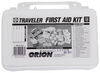 orion first aid kit premade kits blisters burns cuts and abrasions insect bites stings motion sickness pain sprains