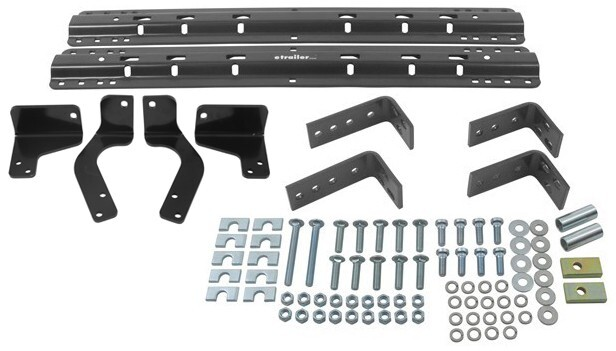 Reese Semi-Custom Base Rail and Installation Kit for 5th Wheel Trailer Hitches - Dodge Ram 1500 Above the Bed RP30035-386