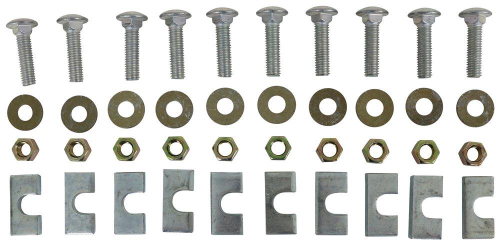 Replacement Hardware Kit for Reese 5th Wheel Base Rails - 10 Bolt Hardware Kit RP58504