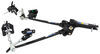 Strait-Line Weight Distribution System w/ Sway Control - Trunnion Bar - 10,000 lbs GTW, 800 lbs TW Fits 2 Inch Hitch RP66083