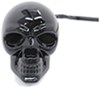 """Skull LED Lighted Trailer Hitch Cover - 1-1/4"""" and 2"""" Hitches - Black Fits 1-1/4 Inch Hitch,Fits 2 Inch Hitch,Fits 1-1/4 and 2 Inch Hitch RP"""