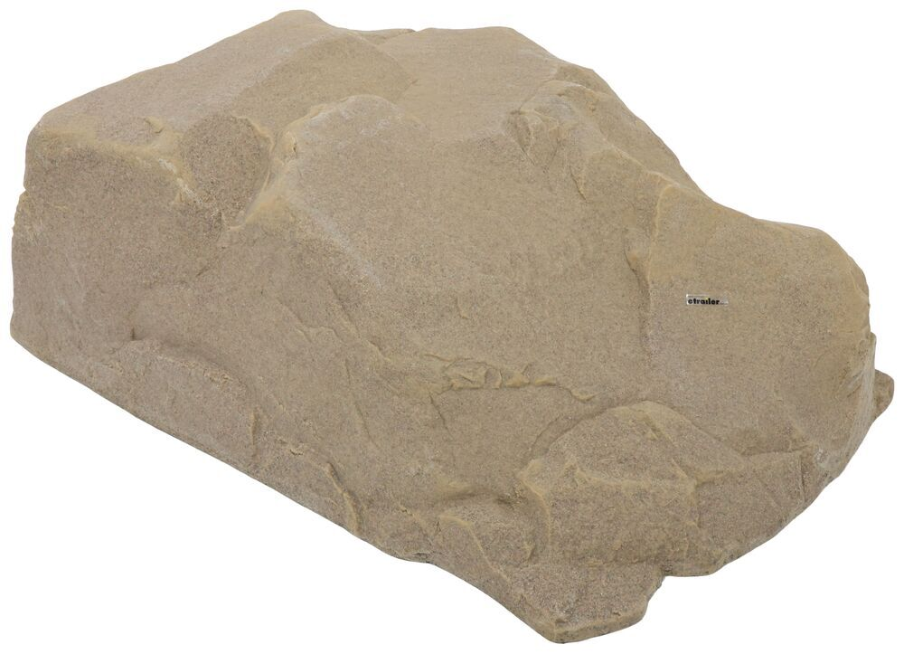 """Race Ramps Show Rock for Vehicle Display - 17"""" Lift - 40"""" Long - Sandstone - Qty 1 40 Inch Long RR-ROCK-17-SS"""
