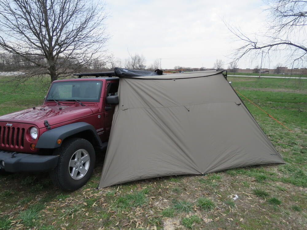 Tapered Extension for Rhino-Rack Batwing and Foxwing Awning - 78-3/4 sq ft Extensions RR31112