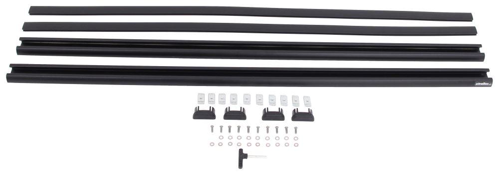 """Rhino-Rack Accessory Bars for Pioneer Platform Rack - 53"""" Long - Aero Bars - Qty 2 Platform Parts RR43138B"""