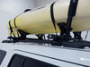 Rhino-Rack Nautic Roof Kayak Carrier w/ Tie-Downs - Side Loading - Clamp On Clamp On RR570