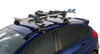 0  ski and snowboard racks rhino rack roof clamp on - quick in use