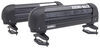 rhino rack ski and snowboard racks roof clamp on - standard track mount rhino-rack carrier locking 3 pairs of skis or 2 boards