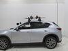 2020 mazda cx-5 ski and snowboard racks rhino rack roof on a vehicle