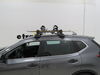 2019 nissan rogue ski and snowboard racks rhino rack clamp on - standard 6 pairs of skis 4 snowboards a vehicle