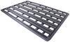 rhino rack roof 107l x 58w inch anti-theft hardware rr85tb