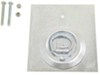 Brophy D-Ring Tie Down Anchor w Backing Plate and Hardware - Bolt-On - Surface Mount - 265 lbs Surface Mount - Bolt-On RR8K