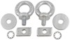 rhino rack accessories and parts roof eyebolts for rhino-rack heavy-duty crossbars - qty 2