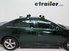 Rhino-Rack 2500 Series Legs for Vortex Aero Crossbars - Naked Roofs or Fixed Mounting Points - Qty 4 4 Pack RRRLKVA on 2015 Chevrolet Cruze
