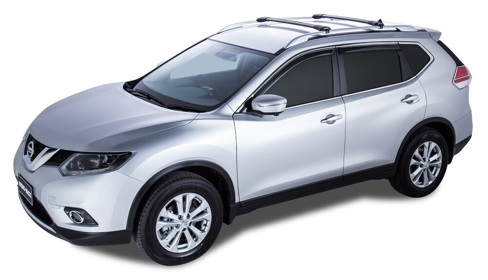 Black Roof Rack Basket Cross Bars are Not Included Lockable for Nissan X-Trail 2001-2007
