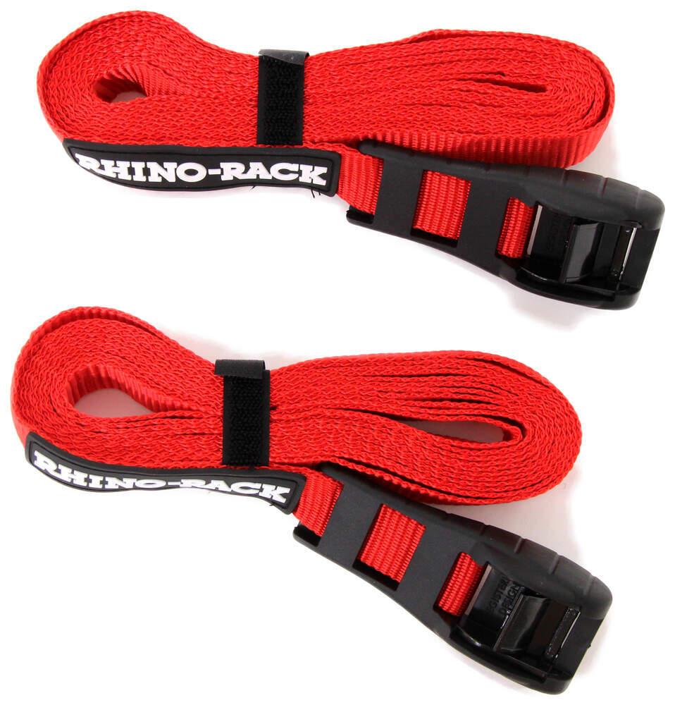 "Rhino-Rack Cam Buckle Cinch Straps - 15/16"" x 14-3/4' - 165 lbs - Qty 2 0 - 1 Inch Wide RRRTD45P"