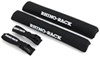 "Rhino-Rack SUP and Surfboard Pads w/ Tie-Downs for Crossbars - Universal - 21-1/2"" Long - Qty 2 Hook-and-Loop Mount RRRWP03"