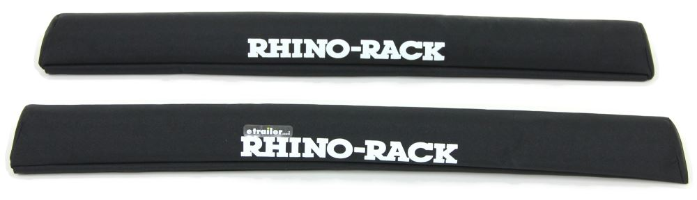 """Rhino-Rack SUP and Surfboard Pads w/ Tie-Downs for Crossbars - Universal - 27-1/2"""" Long - Qty 2 Crossbar Pads RRRWP04"""