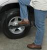 "Rhino-Rack Folding Wheel Step - Tire Mount - 22"" Wide x 8"" Deep - 250 lbs Black RRRWS"