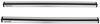"Rhino-Rack Vortex Aero Crossbars - Aluminum - Silver - 49"" Long - Qty 2 2 Bars RRVA126S-2"