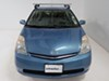 "Rhino-Rack Vortex Aero Crossbars - Aluminum - Silver - 49"" Long - Qty 2 Aluminum RRVA126S-2 on 2006 Toyota Prius"