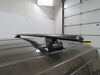 "Rhino-Rack Vortex Aero Crossbars - Aluminum - Black - 71"" Long - Qty 2 Black RRVA180B-2 on 2017 Ford Transit T150"