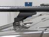 "Rhino-Rack Vortex Aero Crossbars - Aluminum - Black - 71"" Long - Qty 2 Aero Bars RRVA180B-2 on 2017 Ford Transit T150"