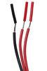 rv safe gas detectors carbon monoxide and propane detector 3-wire for thor motorhomes - 12 volt black