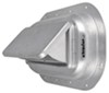 Redline 2-Way Pop-Up Roof Vent with Garnish for Enclosed Trailers - Aluminum 8W x 13-1/2L Inch RV-626-062-2756