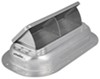 "Replacement Exterior Pop-Up Roof Vent - Aluminum - 13-1/2"" x 8"" Silver RV-626-062"