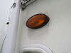 0  rv lighting optronics exterior light 6l x 3-1/2w inch porch utility - incandescent oval black housing amber lens