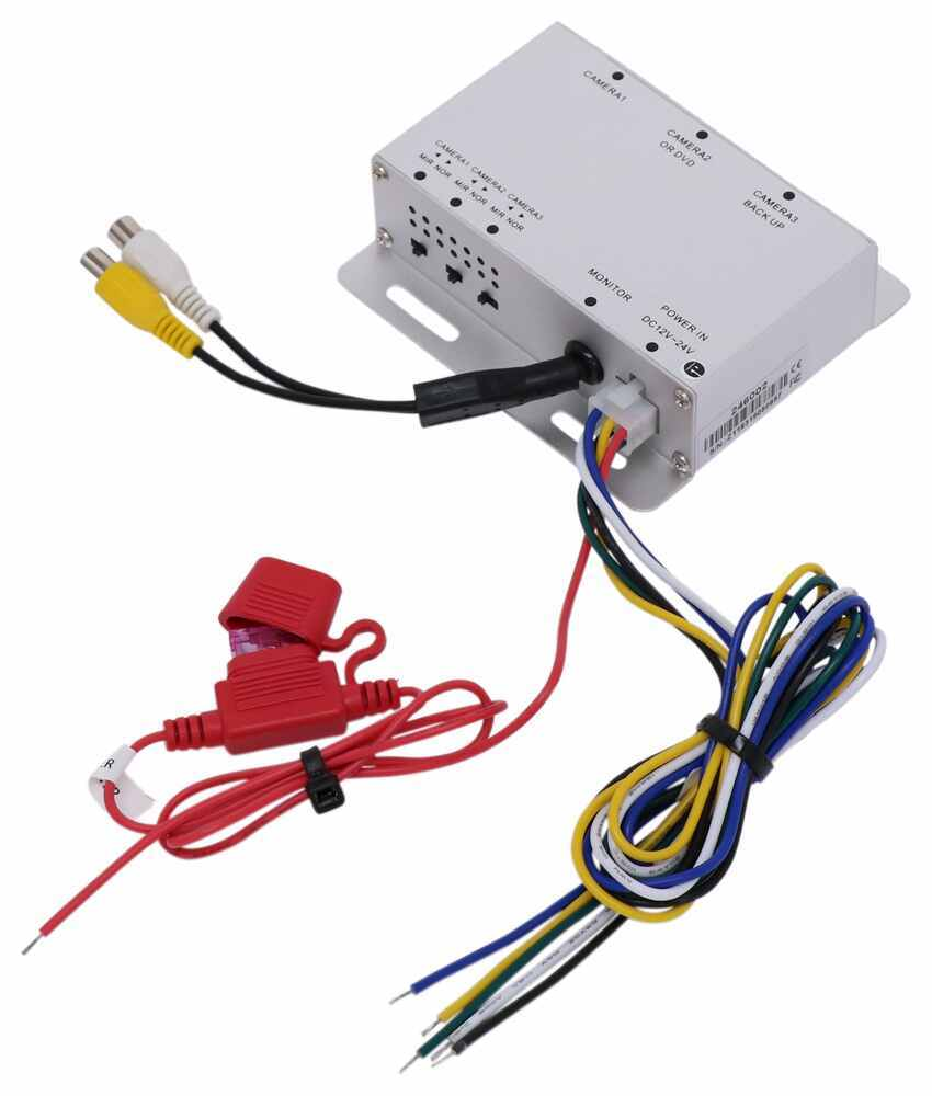 Rear View Safety Switcher Box Multiplexer Box RVS-501N-3