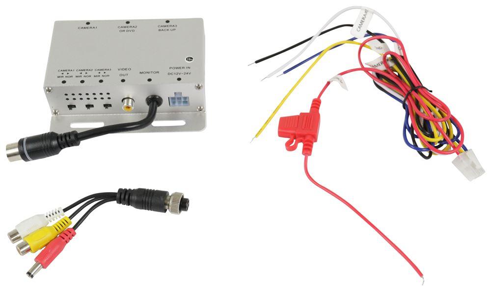 RVS-501N - Multiplexer Box Rear View Safety Inc Backup Camera